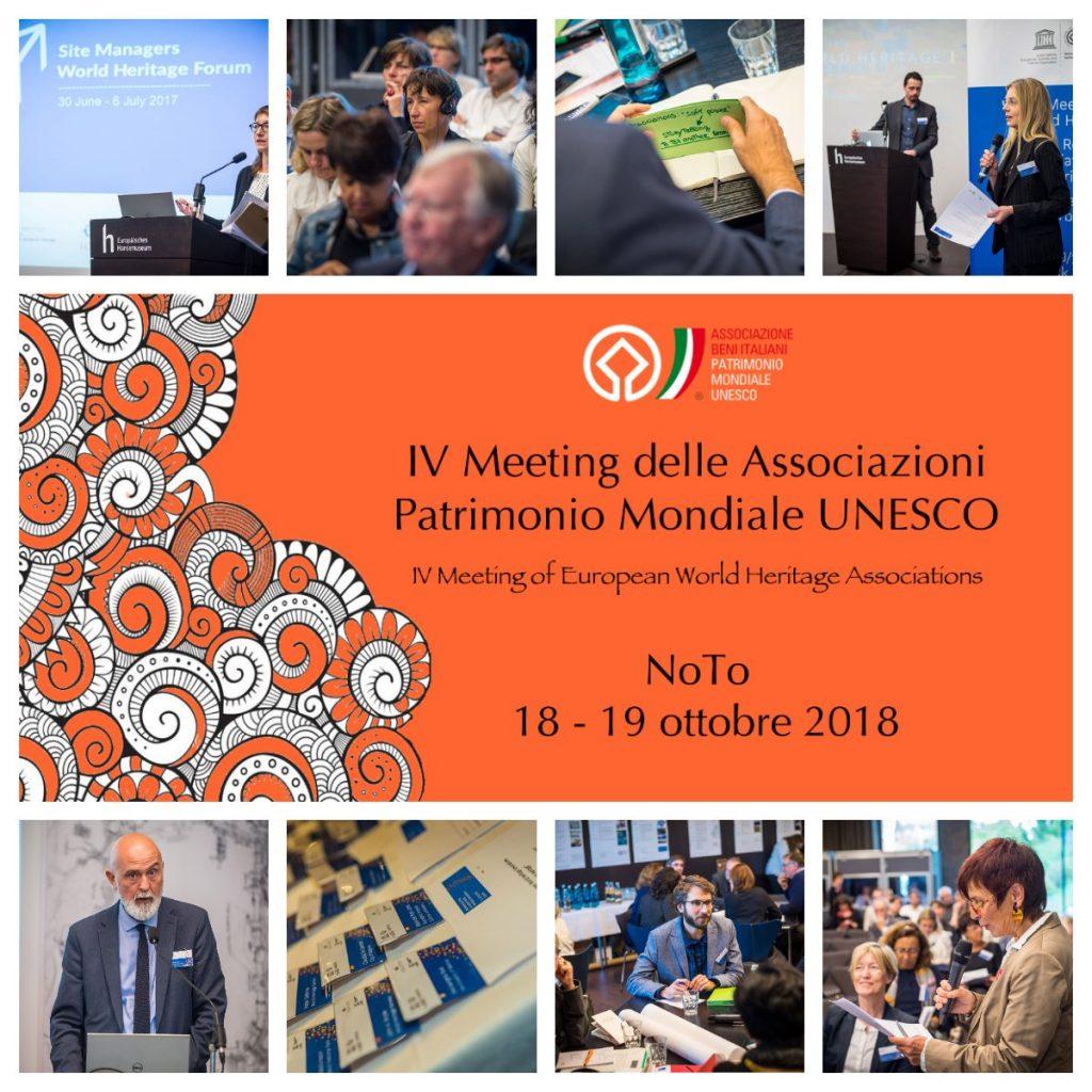 IV Encuentro de Asociaciones Patrimonio Mundial @ Noto, Italia – Octubre 2018