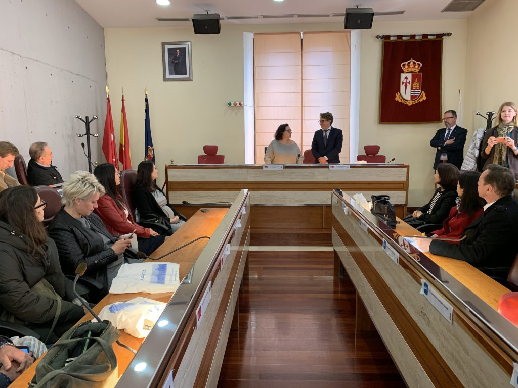 Las delegaciones de Cultura y Turismo del Ayuntamiento de Aranjuez se reúnen con representantes de EUNIC, la entidad que agrupa a los institutos culturales europeos en España