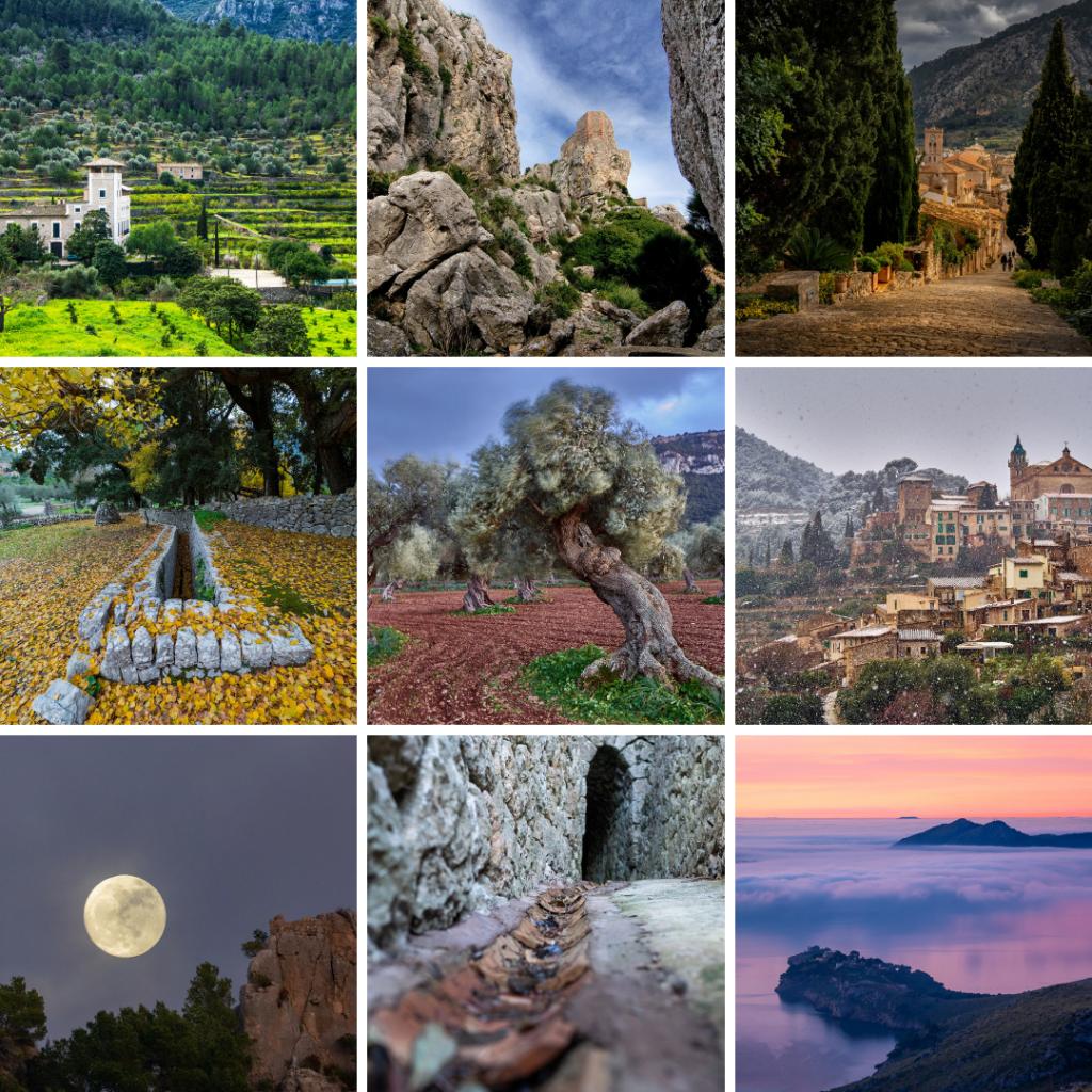 Los ganadores del II Certamen de Fotografía Serra de Tramuntana Patrimonio Mundial reciben sus galardones