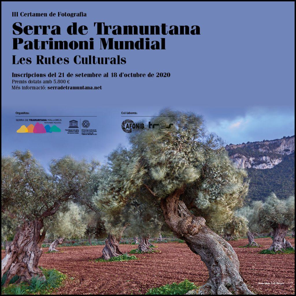 El III Certamen de Fotografía Serra de Tramuntana premiará las mejores fotografías de las Rutas Culturales del Patrimonio Mundial